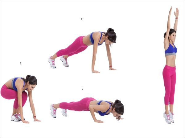 Full-body home workouts for weight loss: 4 effective exercises that will help you burn belly fat