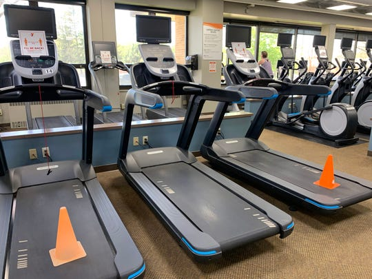 The YMCA of Greater Waukesha County staff are rotating every other piece of equipment that will be available by using cones to practice social distancing. The Waukesha county YMCAs re-opened its four Waukesha County locations in Mukwonago, Waukesha, Menomonee Falls, and New Berlin.