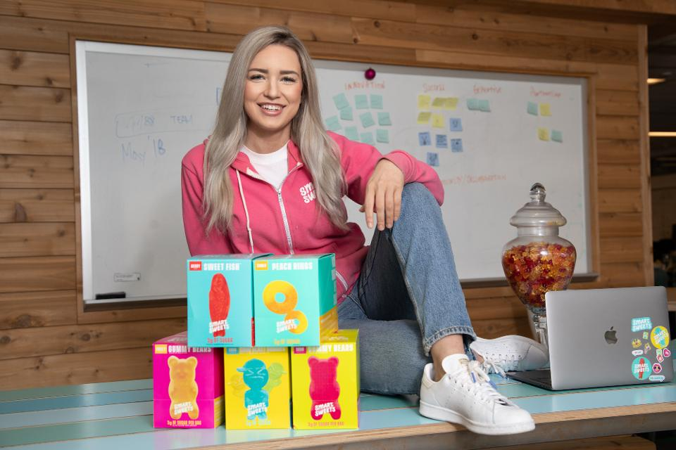Tara Bosch create a confectionery company offering a low-sugar alternative.