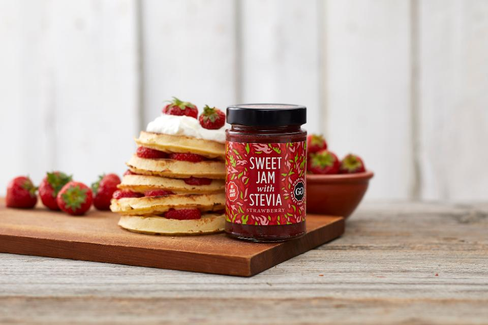 Good Good's line of plant-based jams are perfect for all occasions, including breakfast.