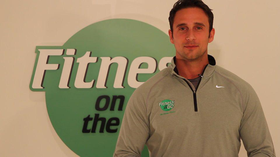 Fitness on the go Founder Dan Mezheritsky.