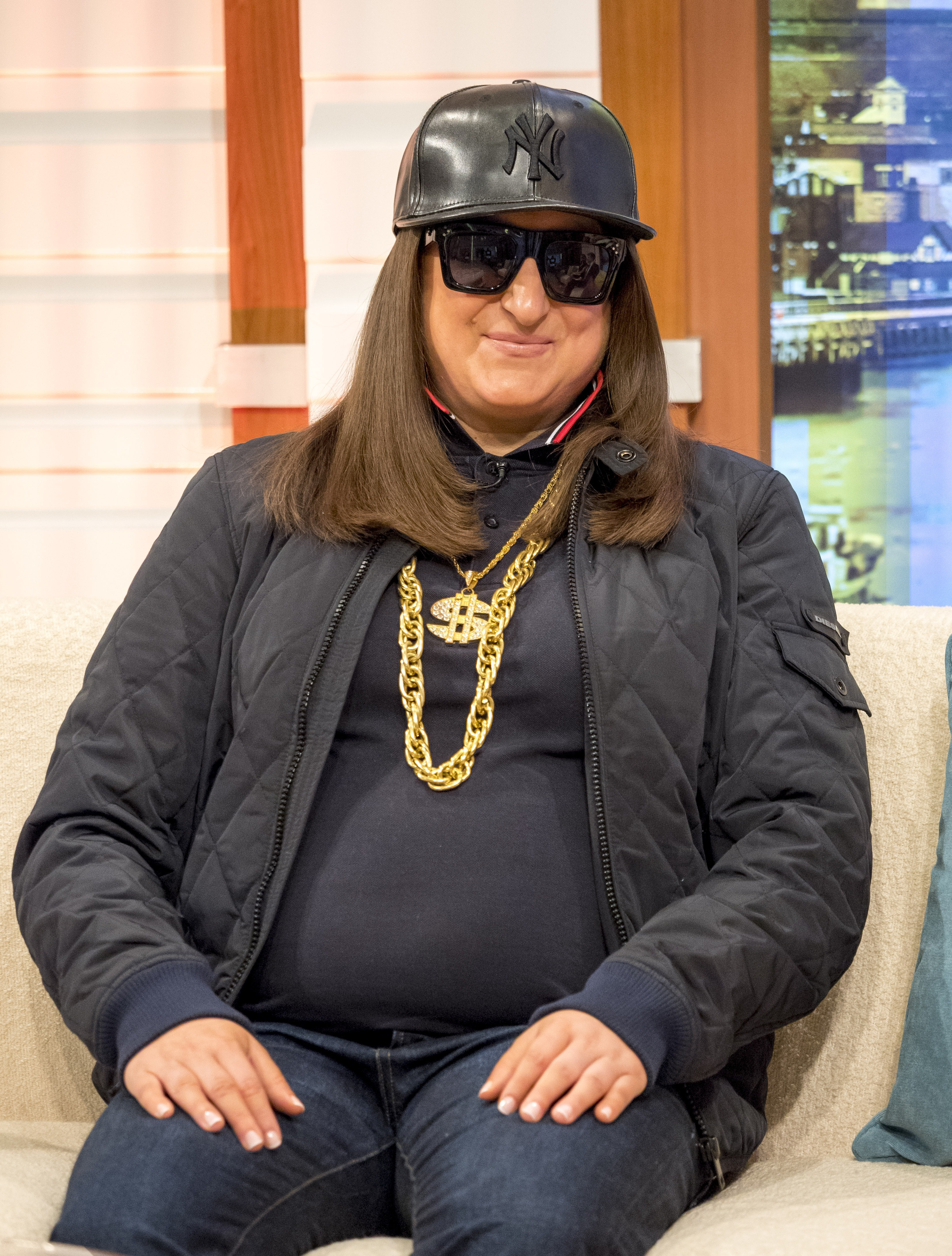 Honey G has lost two stone - pictured in 2018